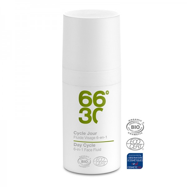 66°30 Cycle Jour Fluide Visage 6-en-1 Ultra-Hydratant Travel Size