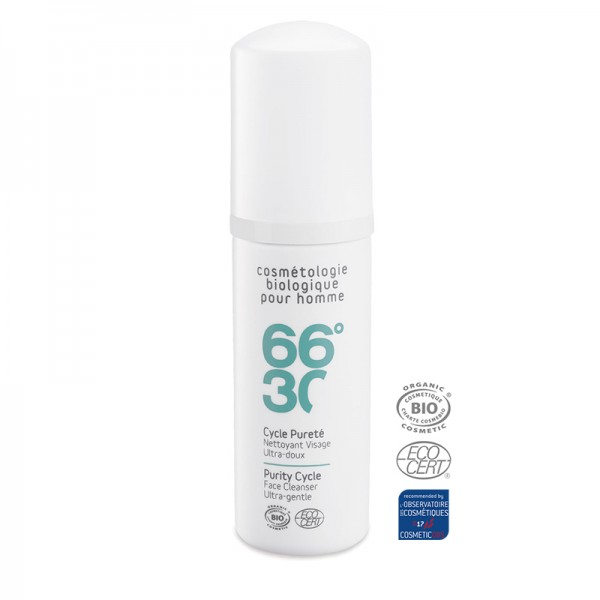 66°30 Purity Cycle Ultra-gentle Face Cleanser Travel Size