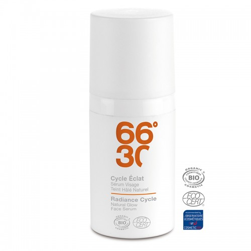 66°30 Radiance Cycle Natural Glow Face Serum