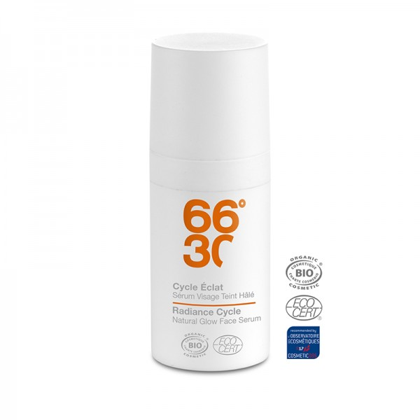 66°30 Radiance Cycle Natural Glow Face Serum Travel Size