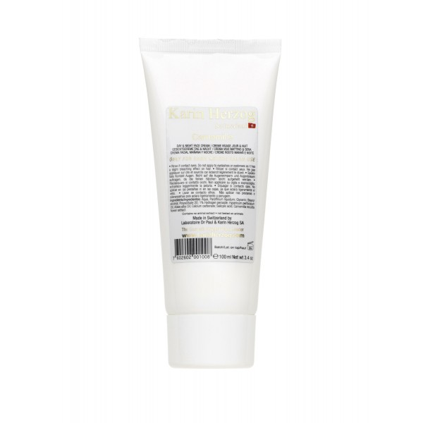 Camomille day cream salon packaging