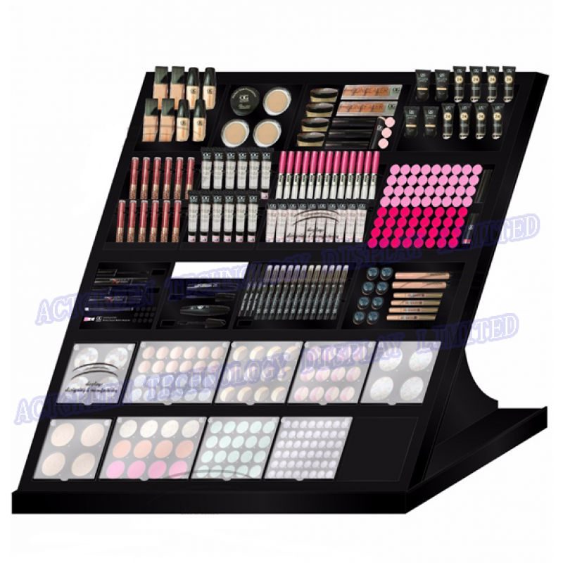 Exhibition Stand Cosmetics : Wholesale cosmetics make up acrylic counter display ml agd