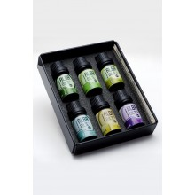 ESSENTIAL OIL SET WITH SIX OILS