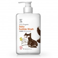 SASSI BABY Eco Organic Baby Bubble Wash 500ml