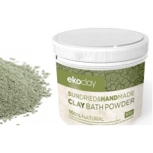 Detox clay bath powder for pedicure
