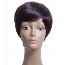High Quality Short Human Hair Wigs Virgin Hair Wig