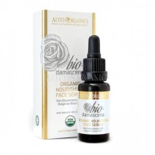 Nourishing Face Serum, Organic Bio Damascena