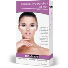 BioMiracle Moisturizing Eye Patches - 10 pack