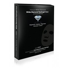 White Diamond HydroGel Mask with Charcoal & Black Pearl