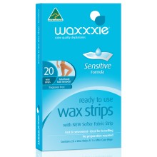 Waxxxie Ready To Use Wax Strips - Body