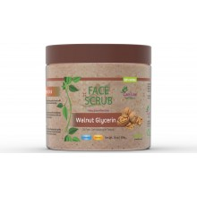 Walnut & Glycerin Face Scrub