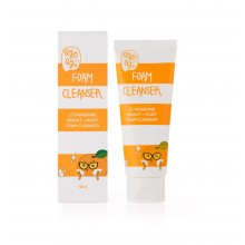 Qyo Qyo Tangerine Bright  and Moist FOAM CLEANSER