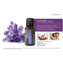 Lucid Aroma Bulgarian Lavender 100% pure essential oil 15 mL