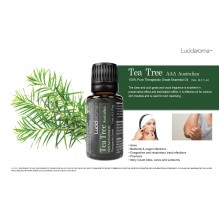 Lucid Aroma Tea Tree 100% pure essential oil 15 mL