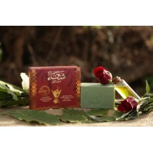 ALEPPO ROYAL SOAP WITH KAABA PERFUME & ROSE WATER