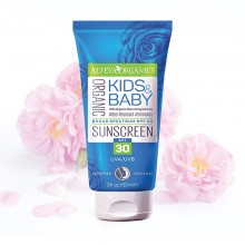 Organic Sunscreen Kids & Baby SPF 30 90ml