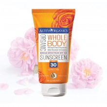 Organic Sunscreen SPF 30 90ml
