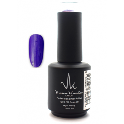 Vivien Kondor London Professional Gel Polish- Electric Grape