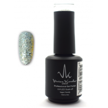 Vivien Kondor London Professional Gel Polish- Silver Ice