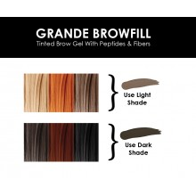 GrandeBrow Fill Tinted Brow Gel - D..