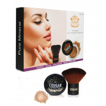 5 in 1 Mineral Foundation with Kabuki Brush (2 colours)