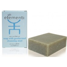 Soap with geothermal cleansing mud