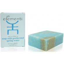 Soap with geothermal spring water