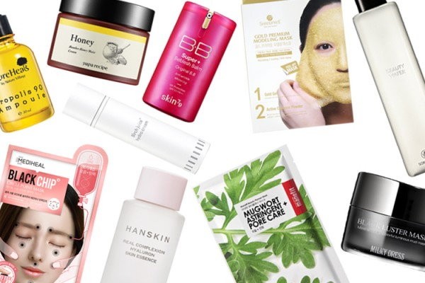 Korean skin care routine with multitasking products