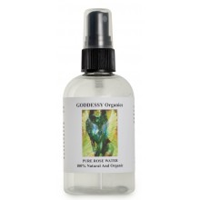 GODDESSY Organics - Pure Rose Water - 4 oz.