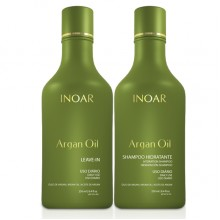 Inoar Shampoo and Leave-in Argan Oil 250 ml