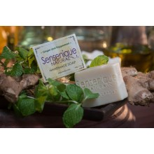 Sensenique Natural Ginger Peppermint Handmade Soap