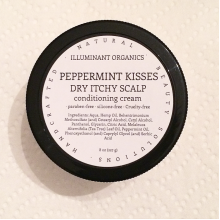 Peppermint Kisses for Dry Itchy Scalp