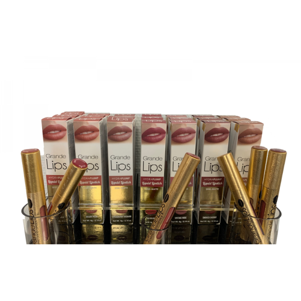 Display starter package GrandeLips Lipstick incl. 21 products