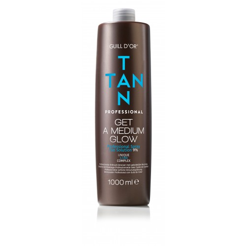 Tan Tan - Spray Tan - Medium Glow 1000ml 9% DHA